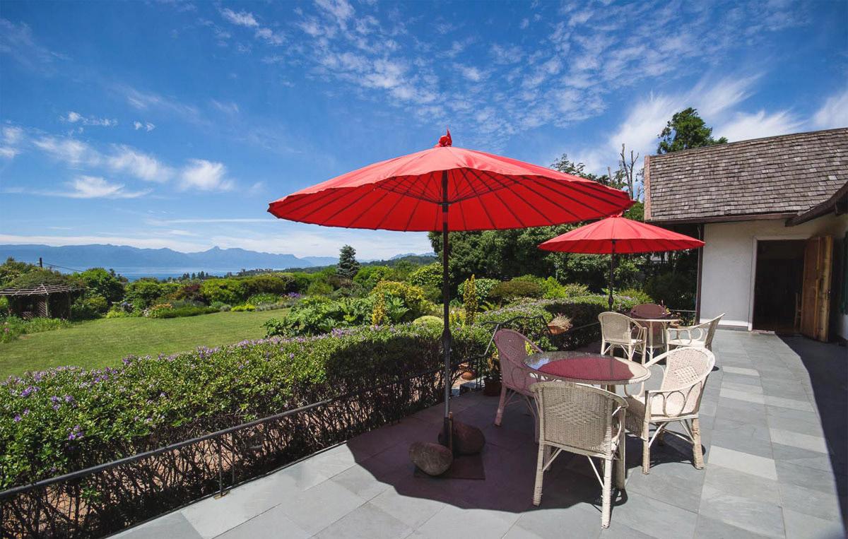 hosteria de la colina balcony view
